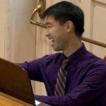 Eric at the organ.